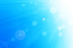 Niebieskiego nieba i okregów tło Obraz Royalty Free