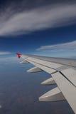 niebieskiego nieba skrzydło Zdjęcia Stock