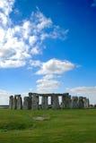 niebieskiego nieba stonehenge Obrazy Royalty Free