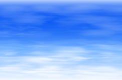 Niebieskiego nieba tło Obraz Royalty Free