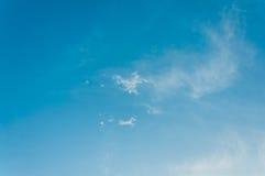 Niebieskiego nieba tło zdjęcia royalty free