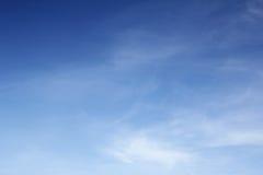 Niebieskiego nieba tło Obraz Stock