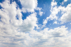 Niebieskiego nieba tło Zdjęcie Royalty Free