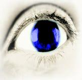 Niebieskiego Oka zakończenie Zdjęcie Royalty Free