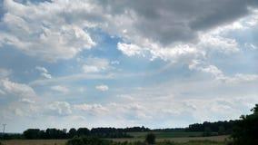 niebiosa otwarte obrazy stock