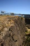 Τοίχος Niebla του οχυρού, Χιλή Στοκ εικόνα με δικαίωμα ελεύθερης χρήσης