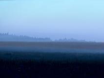 Niebla. Amanecer. Fotografía de archivo libre de regalías