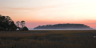 Niebla costera Fotografía de archivo