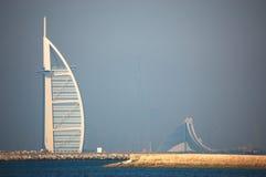 Niebla de Dubai imágenes de archivo libres de regalías