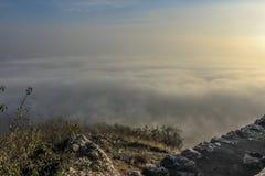 Niebla de la lava del ¡de PÃ Fotografía de archivo