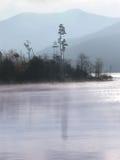 Niebla de la mañana imágenes de archivo libres de regalías