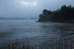 Niebla de la mañana Fotos de archivo