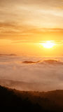 Niebla de la mañana en Songkla, Tailandia Foto de archivo libre de regalías