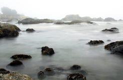 Niebla de la tarde Fotos de archivo libres de regalías
