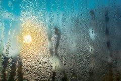 Niebla de la ventana Fotos de archivo libres de regalías
