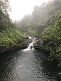 Niebla de Maui Foto de archivo libre de regalías