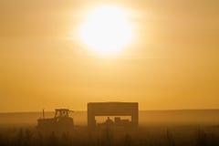 Niebla de Mornig Fotografía de archivo libre de regalías