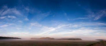 Niebla de octubre Foto de archivo libre de regalías