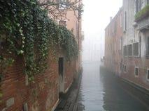 Niebla de Venecia Fotos de archivo