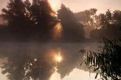 Niebla del agua Foto de archivo