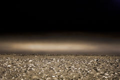 Niebla del mar. Imagenes de archivo