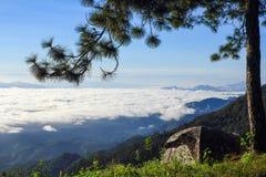 Niebla del mar Foto de archivo libre de regalías