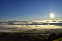 Niebla del mar Imagenes de archivo