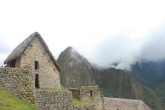 Niebla en los Andes Imágenes de archivo libres de regalías
