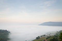 Niebla fantástica Foto de archivo libre de regalías