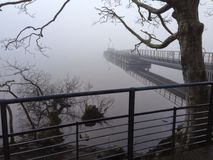 Niebla gruesa Imagen de archivo