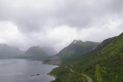 Niebla mojada Foto de archivo libre de regalías