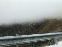 Niebla Nevado imagenes de archivo