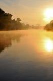 niebla por la mañana Foto de archivo