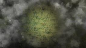 Niebla química Humo químicamente peligroso stock de ilustración