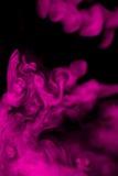 Niebla rosada Imagenes de archivo