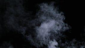 Niebla seca realista de las nubes de humo fotografía de archivo