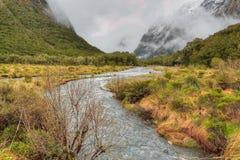 Niebla y agua Imagenes de archivo