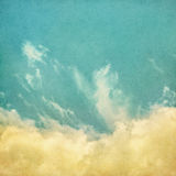 Niebla y nubes del vintage Fotos de archivo