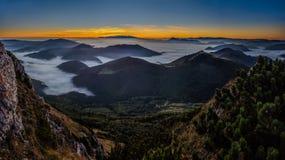 Nieblas de la mañana Foto de archivo libre de regalías
