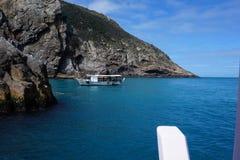 Niebo, łódź i morze, Fotografia Royalty Free