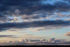 1 niebo Obrazy Stock