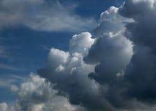 Niebo 7 i chmury obrazy royalty free