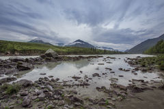 Niebo Altai góry Obrazy Stock