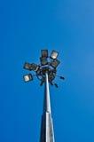 niebo błękitny lampowa ulica Zdjęcia Royalty Free