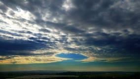 Niebo burza Obraz Royalty Free