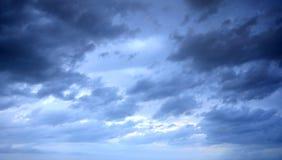 niebo burzowy zdjęcie stock