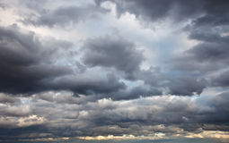 niebo burzowy Obrazy Royalty Free