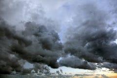 niebo burzowy Obrazy Stock