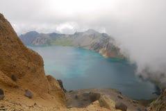 niebo changbaishan lake Fotografia Royalty Free