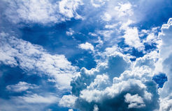 Niebo chmura Zdjęcie Stock